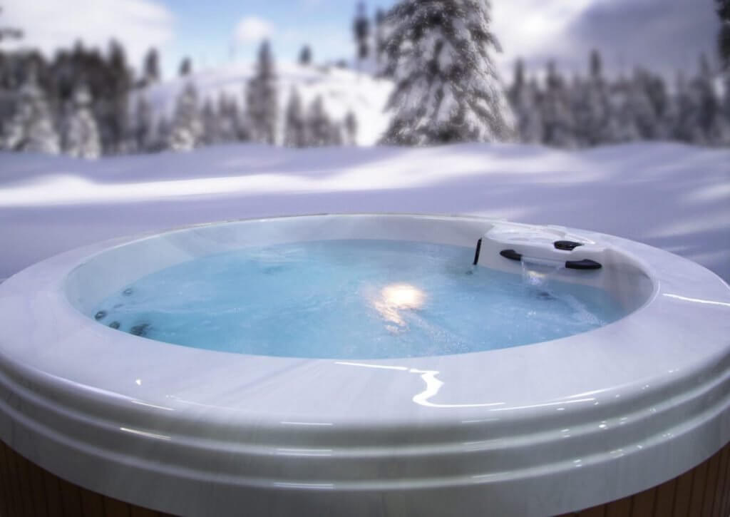Hot Tub Care in the Winter