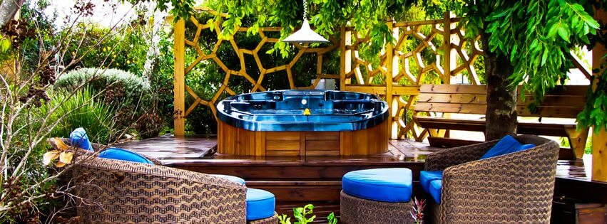 Caring for hot tub on vacation