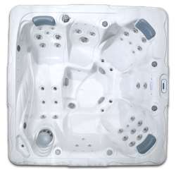 Top View of NSS6 Convenient and Affordable Plug and Play Spa from Hot Tub Ontario's Signature Series in Oshawa Ontario