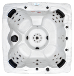 Top View of NSS7 Convenient and Affordable Plug and Play Spa from Hot Tub Ontario's Signature Series in Mississauga Ontario