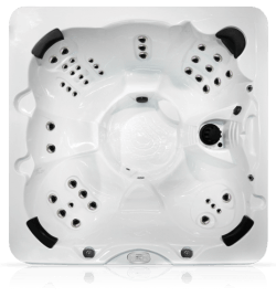 Top View of 7B Entry Level Northwind Hot Tub - Barrie Ontario