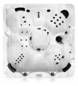 Top View of 7L Entry Level Northwind Hot Tub - Mississauga Ontario