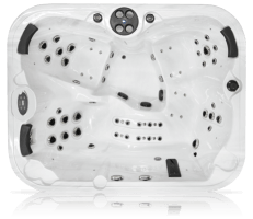 Top View of Omega E Coast Spa Hot Tub - Oshawa